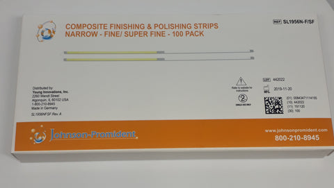 Composite Finishing Strips Fine/Super Fine; Narrow