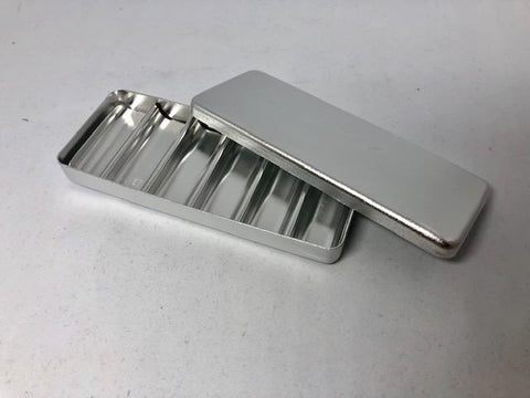 Burrs Holder Block Sterilizer Case-Silver-BSilver-North America Medical Equipment Ltd.
