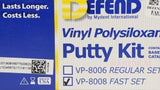 DEFEND PUTTY KIT, FAST SET-VP-8008-Defend MyDent International