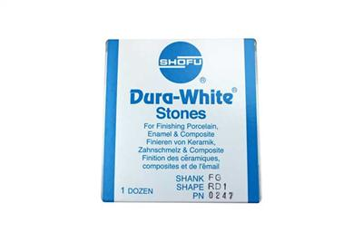Dura-White® Stones RD1 FG 12/pk-0247-Shofu Dental Corporation