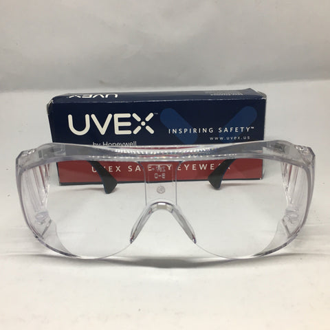 Uvex Safety Eyewear Ultra-Spec, Clear Frame, Clear Lens-S0112C-PLASDENT