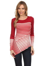 Red, White & Wow! Asymmetric Top