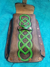 Pouch with Celtic knot