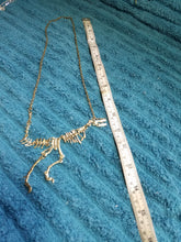 Dinosaur bones necklace