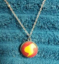 Poly clay necklace