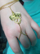 Slave bracelet- golden dragon