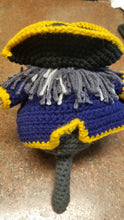 Rattle doll-crocheted