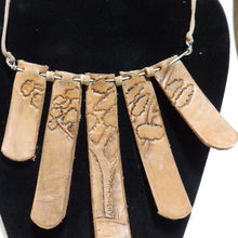 African Style Tree Necklace
