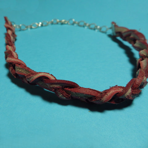 Red Braid Bracelet