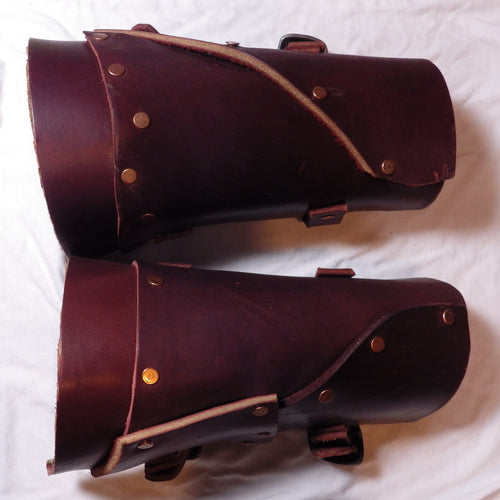 Patchwork Bracers