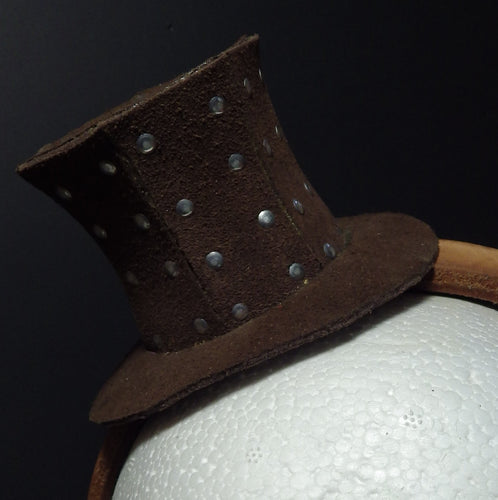 Riveting Mini Top Hat