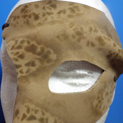 Stenciled Quarter Mask