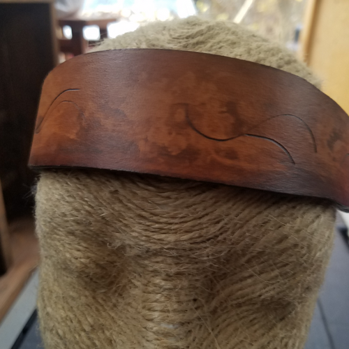 Leather Headband