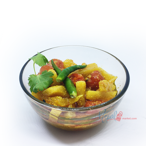 Hot Cherry Pepper & Radish Pickle (Dalla Mula)