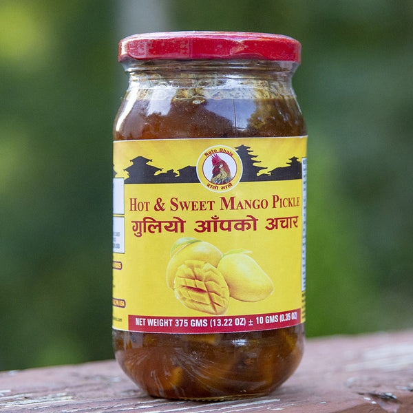 Hot & Sweet Mango Pickle