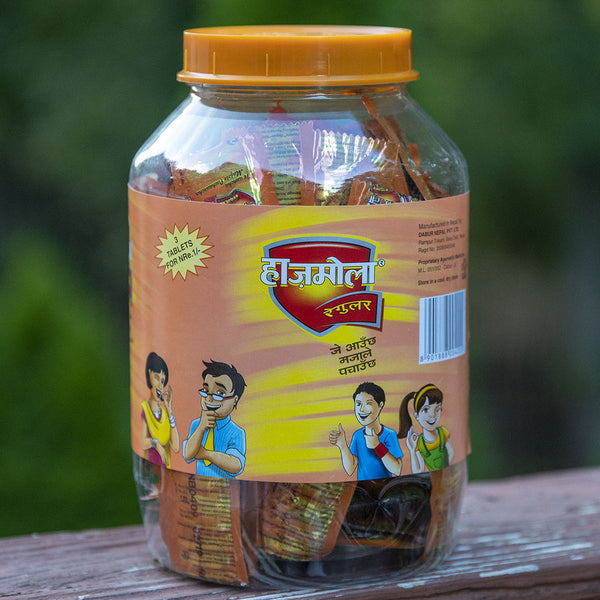 Dabur Hajmola Regular - Jar of 250 packs