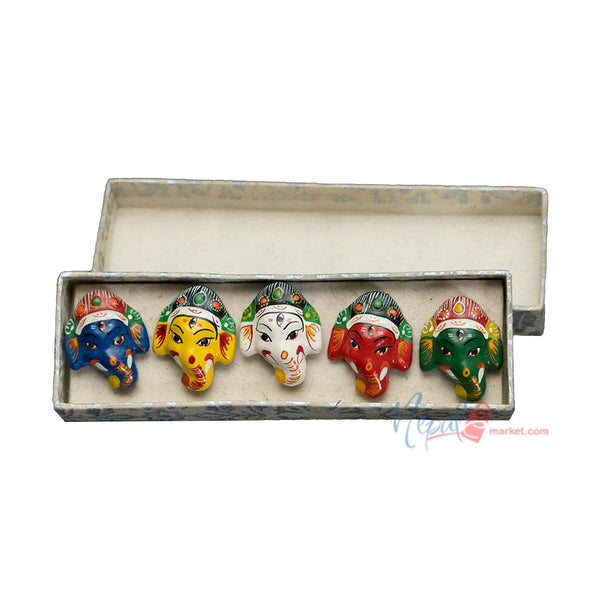 Small Ganesh Magnetic Clay Mask - Set of 5