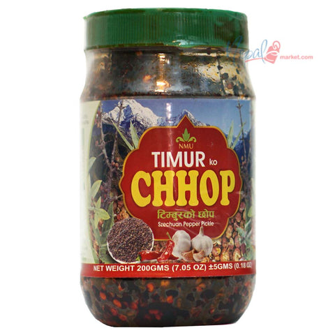 Timmur ko Chhop (Szechuan Pepper Pickle)