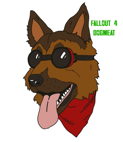 Dogmeat Pins
