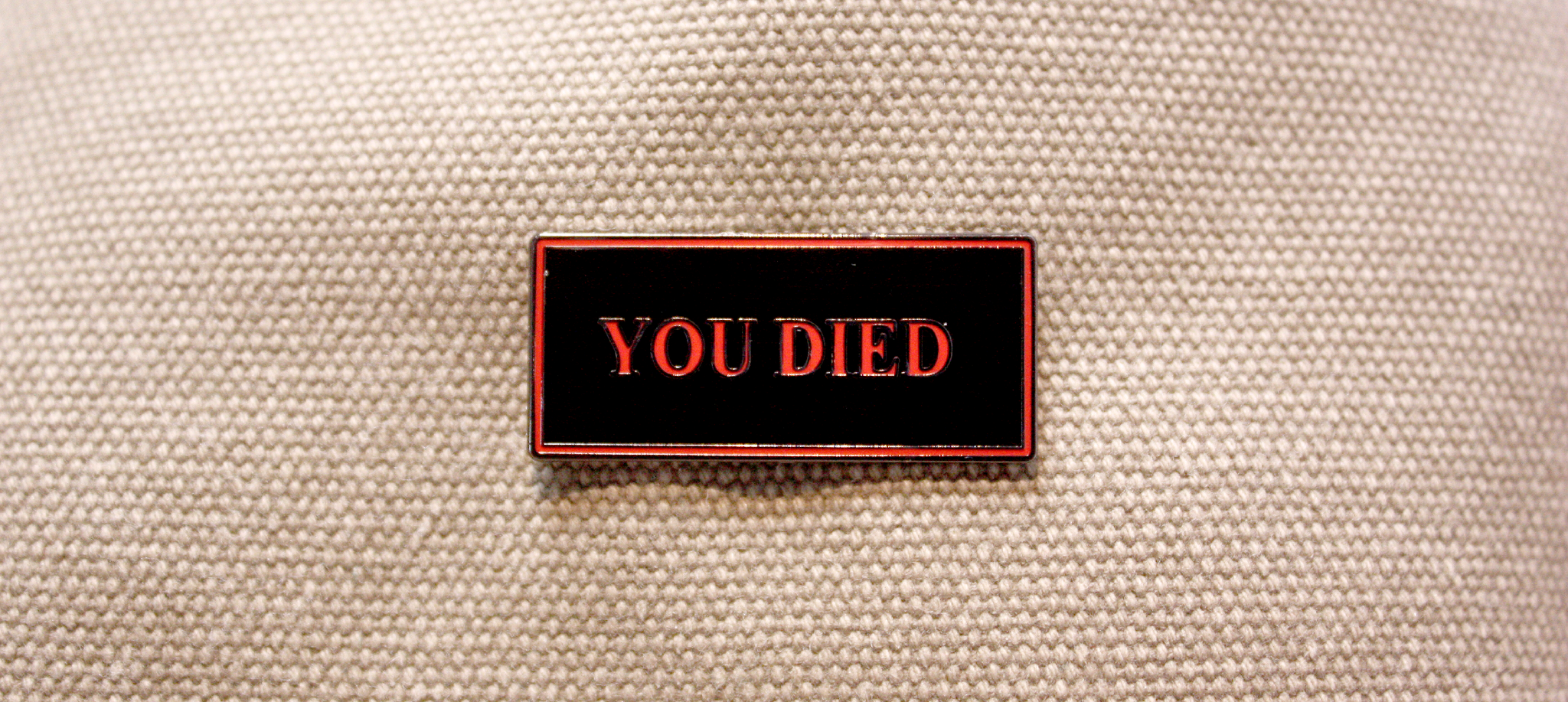 YOU DIED Pin