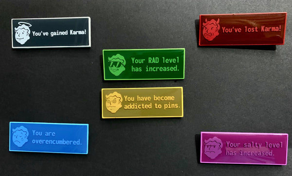 Condition Pins in Color