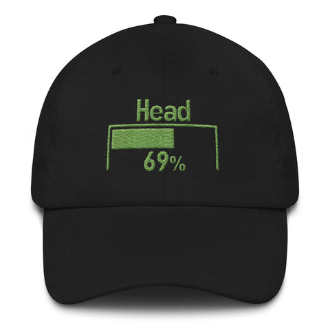 69% Head Damage Dad hat