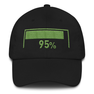 95% Damage Dad hat