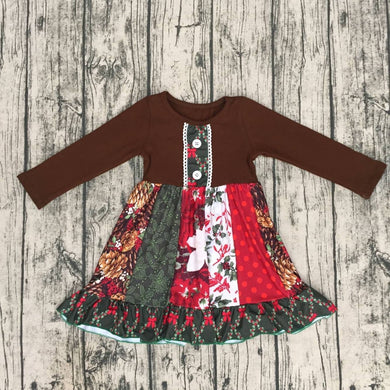 Brownies Holiday Spruce Dress