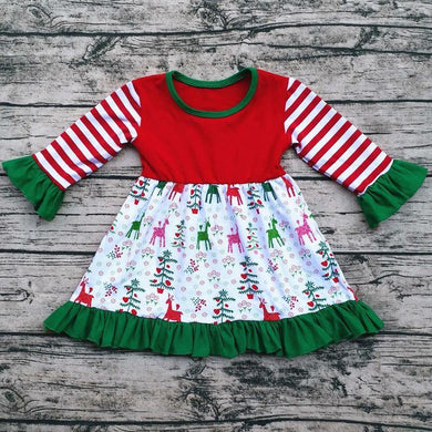 Clarice's Reindeer Dress
