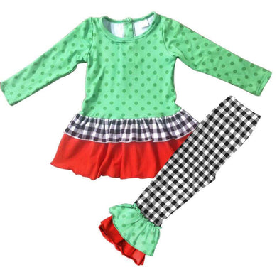 Emmy's Gingham Holiday Set