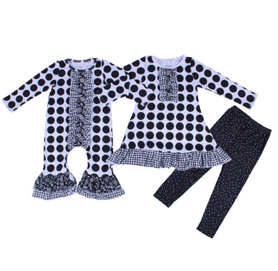 Gigi's Gingham and Dots Romper