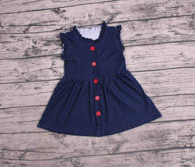 Navy's Dot Dress