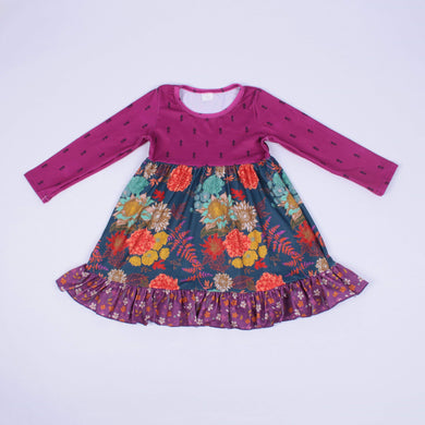 Maggie's Magenta Swing Dress