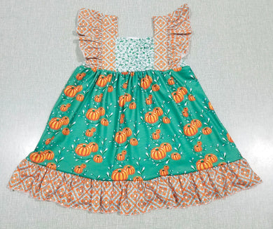 Anne of Green Pumpkins Sleeveless Dress