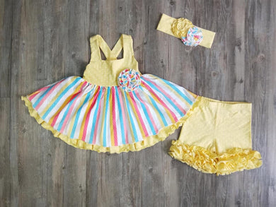 Rainbows & Sunshine Sleeveless Set