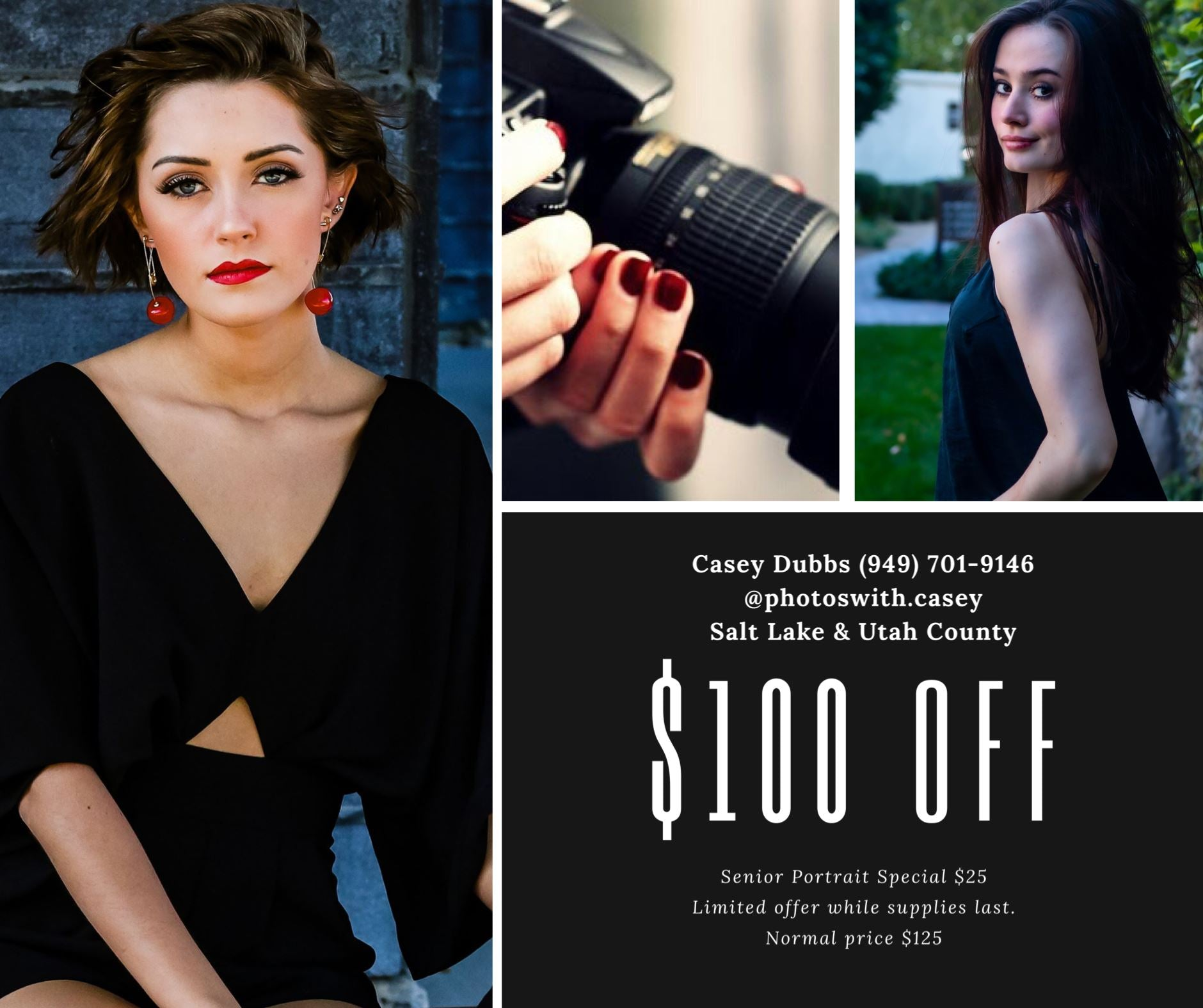 ** $100 OFF ** Professional Photoshoot [Photos With Casy] Betty Harlow
