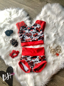 #27 Super Cute and Spunky Red Hearts Set Betty Harlow