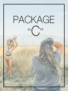 PACKAGE C (45min) Betty Harlow