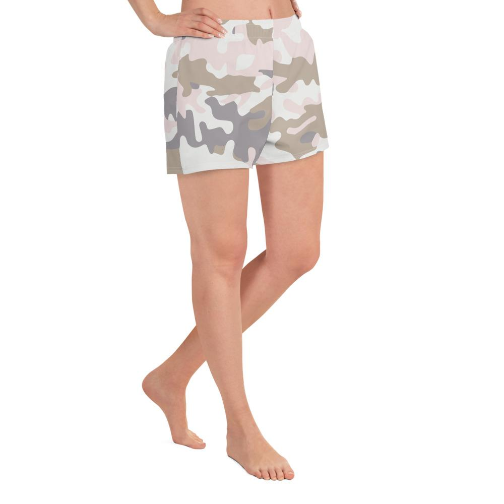 Pastel Camo Women's Athletic  Shorts