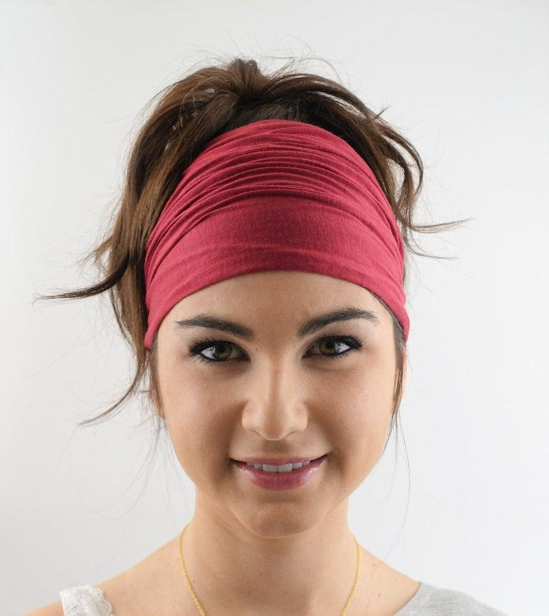 Yoga Beach Black / Size fits all Hair Wrap