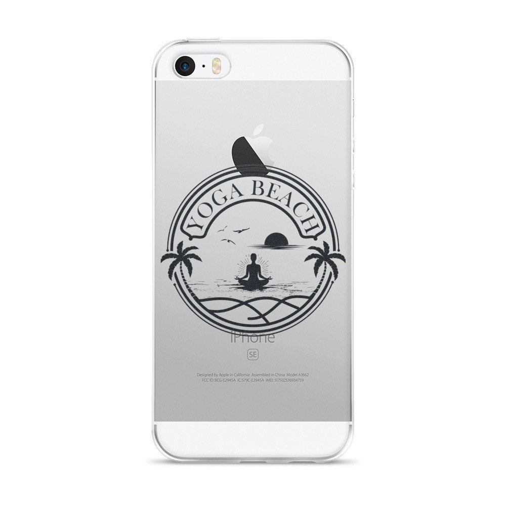 iPhone 5/5s/Se, 6/6s, 6/6s Plus Case - Yoga Beach