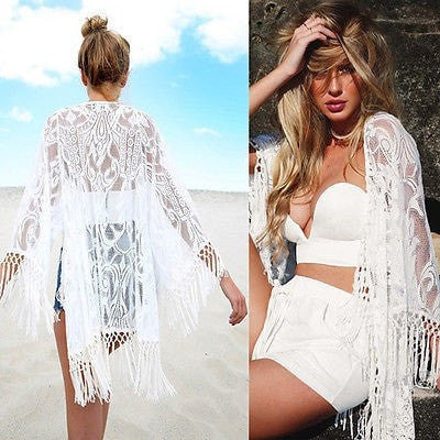Tasseled Cover Up - Yoga Beach