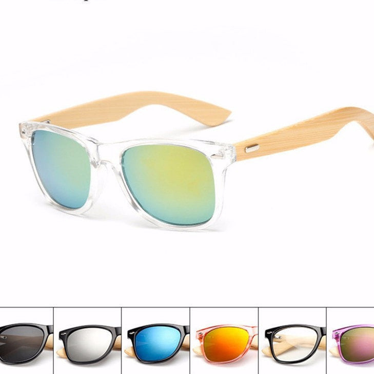 Wooden Sunglasses - Yoga Beach
