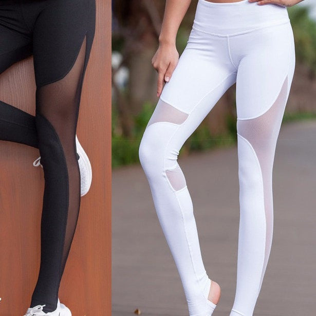 Mesh Yoga pants - Yoga Beach