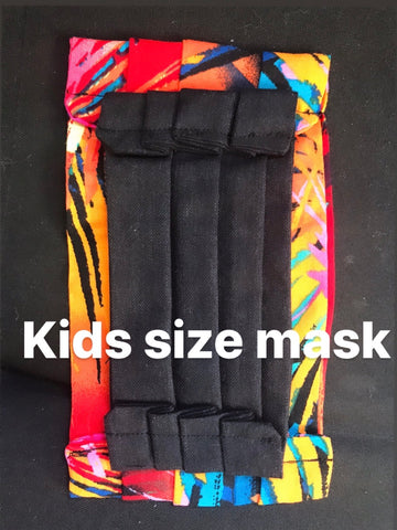Kids Fabric handmade face mask