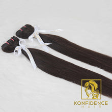 Lavish Natural Straight Weft