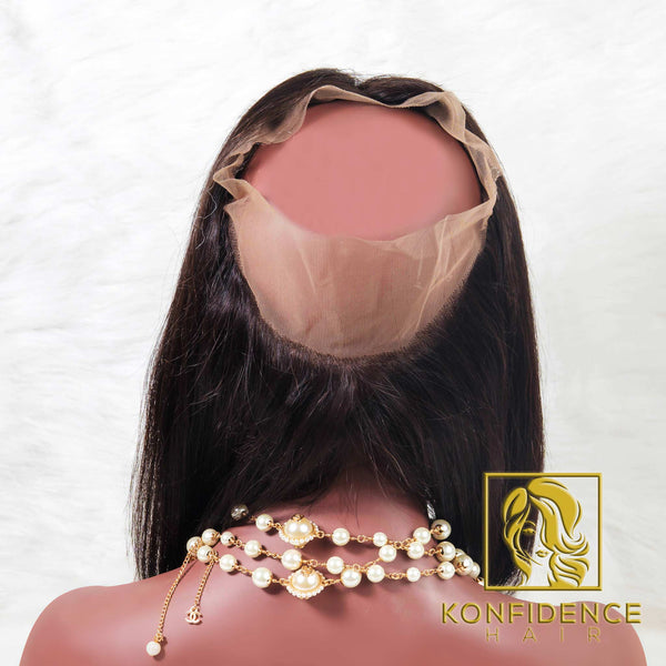Lavish Natural Straight 360 Frontal