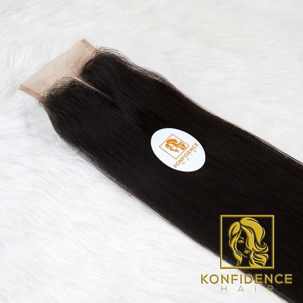 Opulent Natural Straight 4x4 Closure