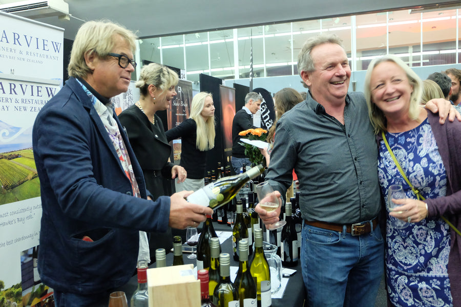 Wine beer and spirits expo in Taupo