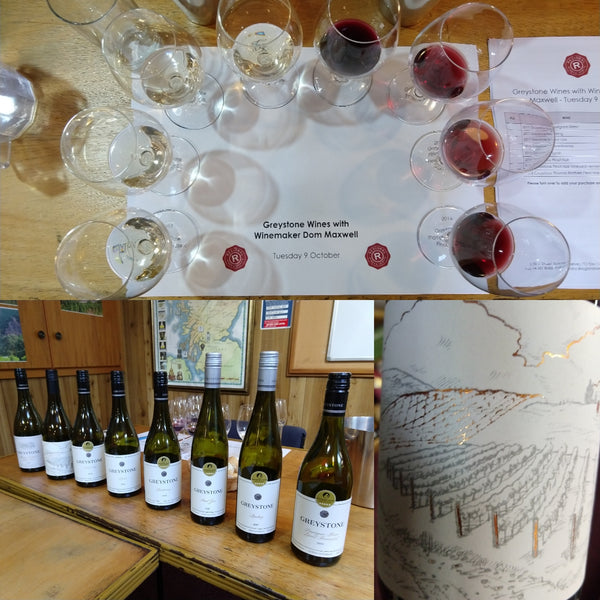 Greystone Tasting with Dom Maxwell at Regional Wines